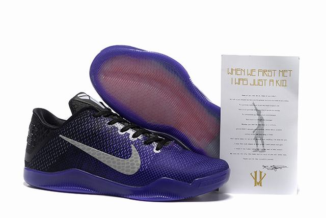 Kobe 11 Shoes Lakers Purple